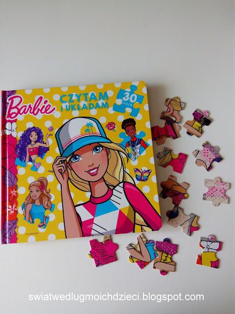 Barbie czytam i układam