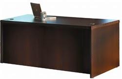 Straight Front Desk