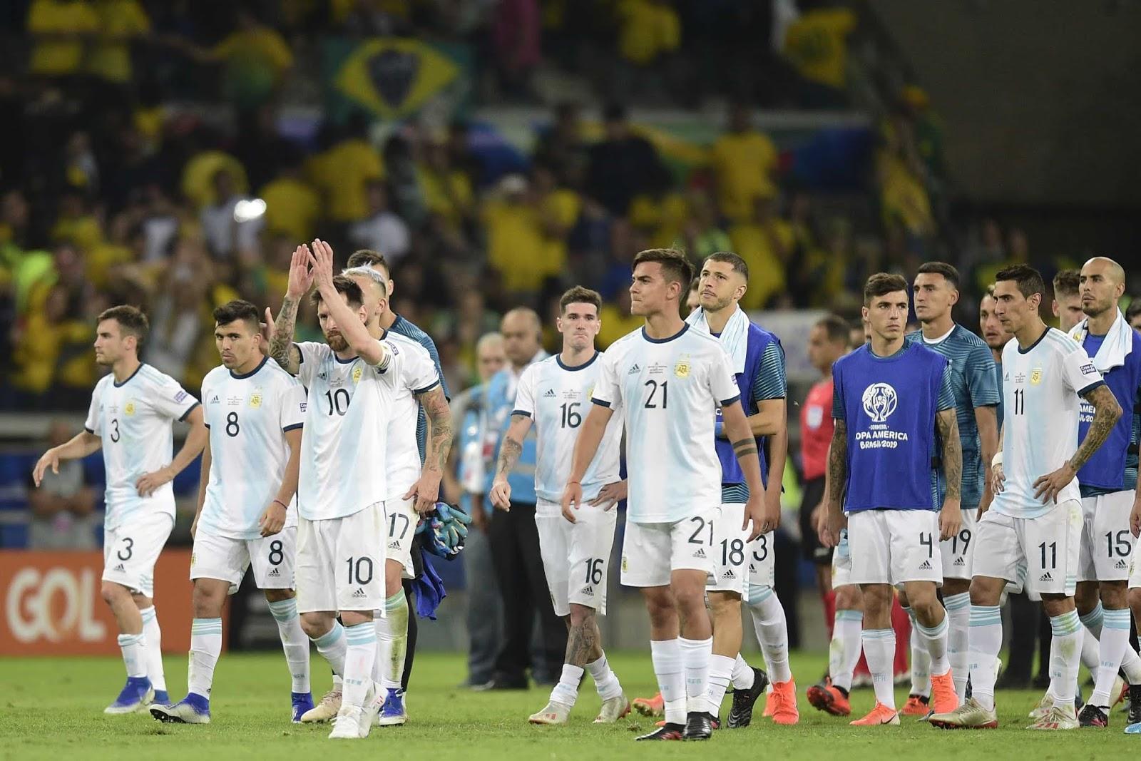 Argentina Brasil Semifinales Copa America