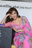 Angela Krislinzki Rogue Movie Fame Telugu Actress in Saree Backless Choli 017.JPG