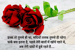For love Shayari in hindi