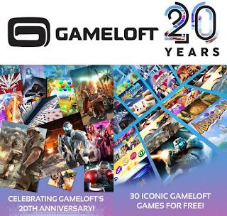 احتفالًا بالذكرى العشرين لها Gameloft تُطلق 30 لعبة كلاسيكية في تطبيق واحد