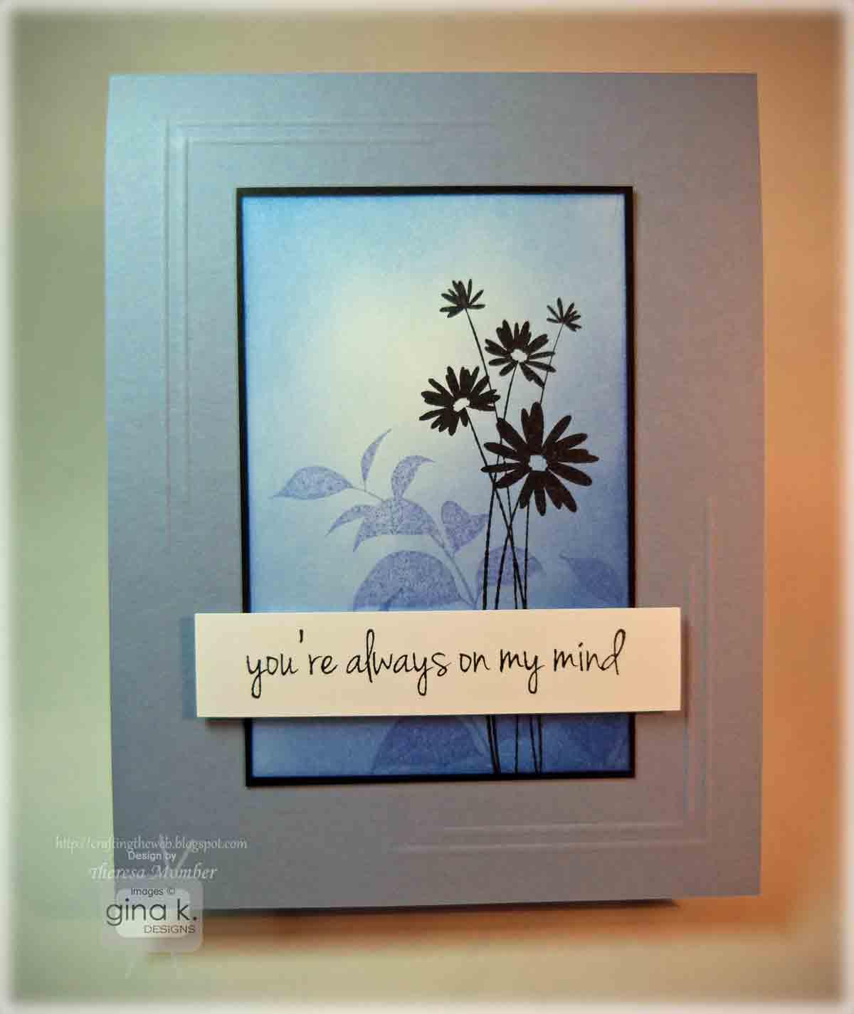 Good Card Making Ideas Gina K Part - 7: Gina K Inspiration Hop Day 3