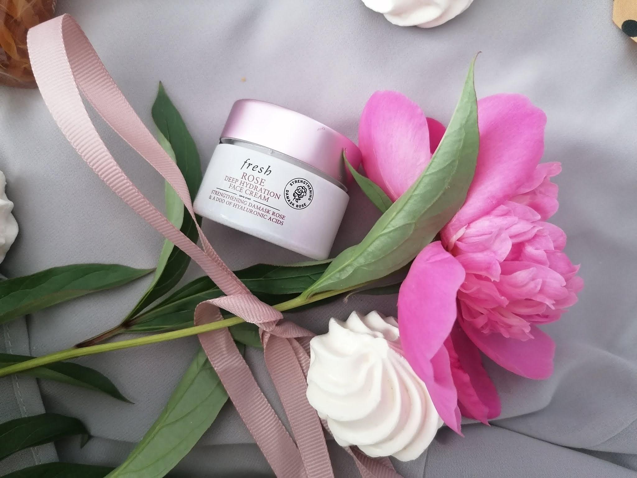 Rose Deep Hydration Face Cream fresh