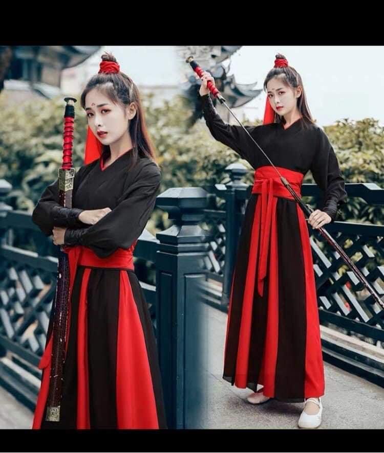 Cho thuê cổ trang CT-AZ11 nữ hiệp kiếm khách