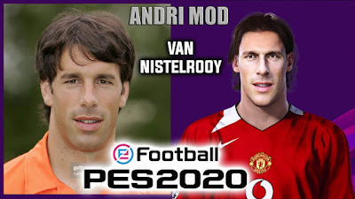 PES 2020 Faces Van Nistelrooy by Andri Mod