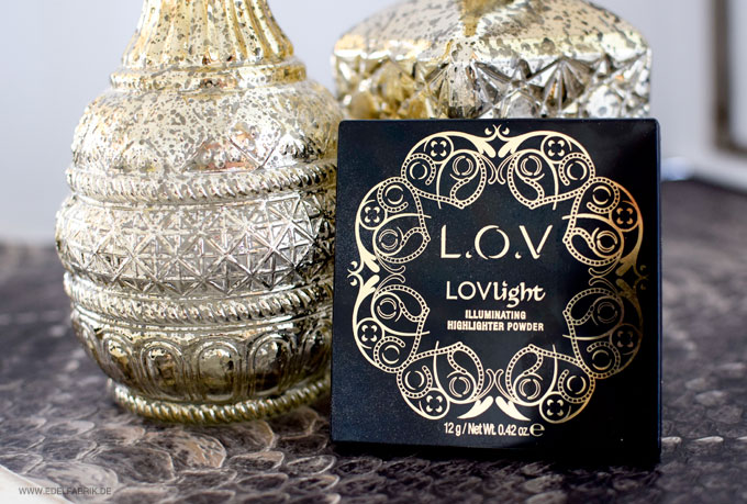 LOV LOVlight Illuminating Highlighter Powder, Packaging