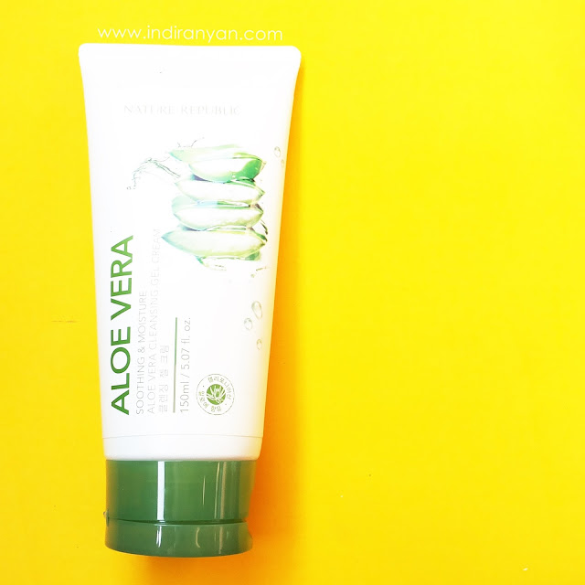 nature-republic-aloe-vera-cleansing-gel-cream