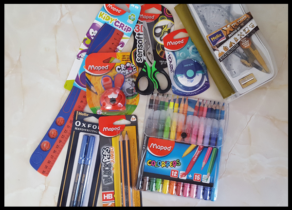 great back to school stationery from Maped Helix