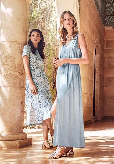 vestidos de fiesta colección verano H&M