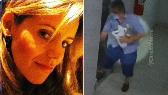 mulher promotor morta ritual macabro investigacoes