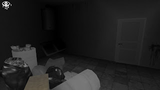 Eyes free PC horror game