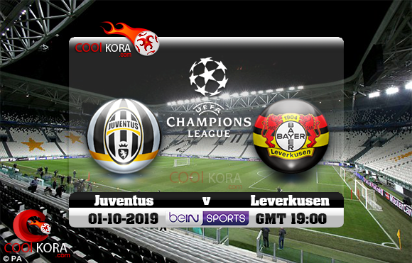 مشاهدة مباراة يوفنتوس وباير ليفركوزن اليوم 1-10-2019 في دوري أبطال أوروبا