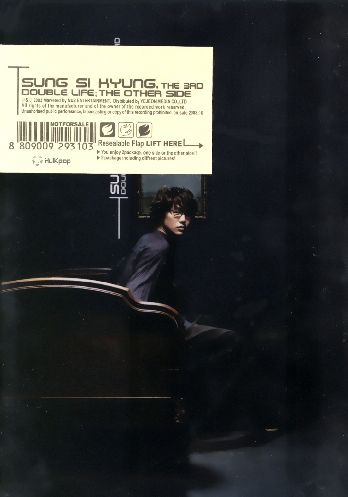 Sung Si Kyung – Vol.3 Double Life (The Other Side) (FLAC)
