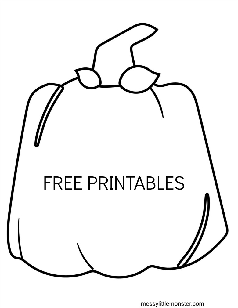 printable pumpkin template