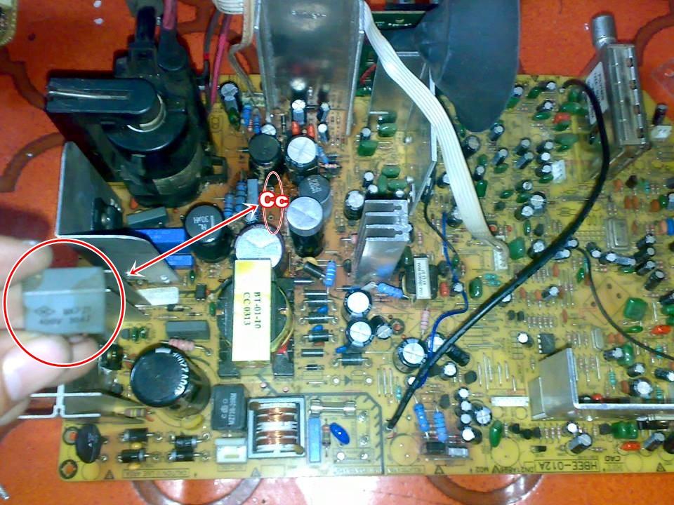 Kumpulan Kerusakan TV Elektronik Komputer Terlengkap