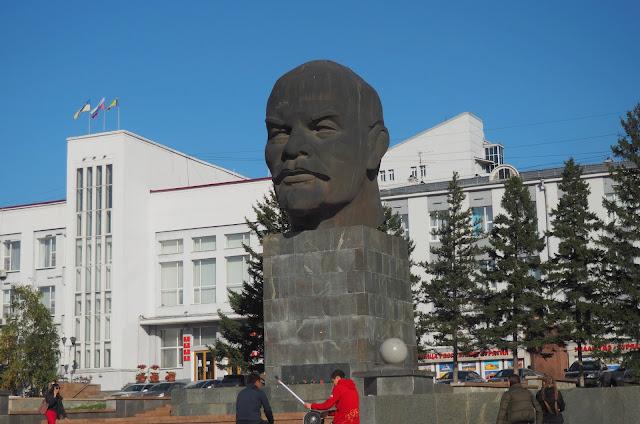 Улан-Удэ, памятник Ленину