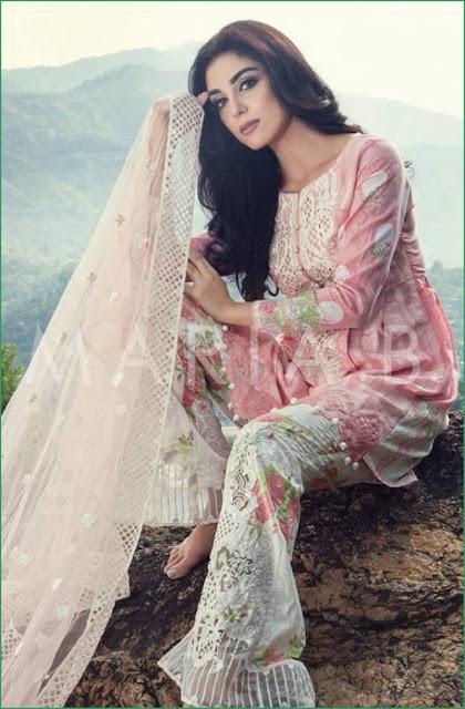 1633c56e7f Marie B Eid Lawn 100 % Original Salwar Kameez Collection 2016 D-09 |  anarkali salwar kameez online | long salwar kameez online | kids salwar  kameez online ...