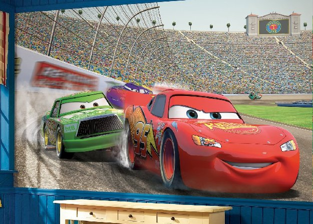 Disney Cars Tapetti 3d