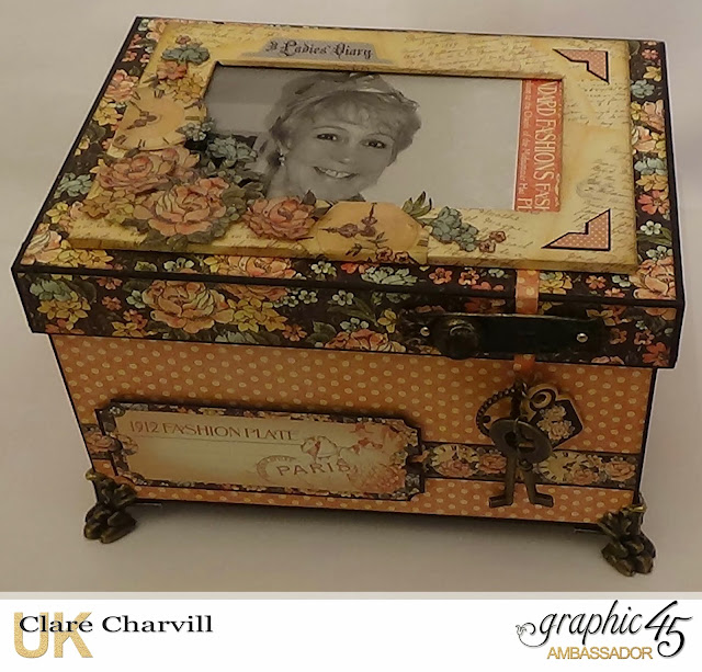 A Ladies Diary Memory Box Clare Charvill Graphic 45