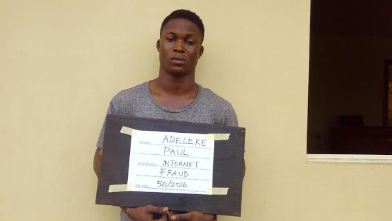 Pics: EFCC Nabs five students over N16 million internet fraud