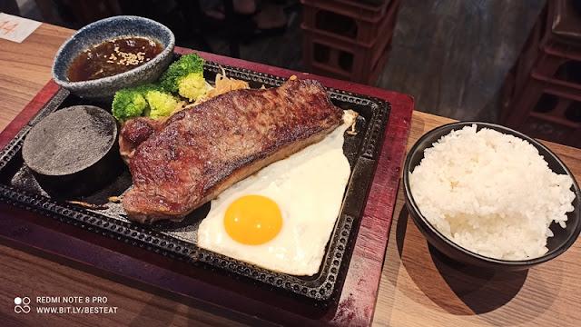 Teppan Sakaba Menu - Teppan Asian Beef Striploin