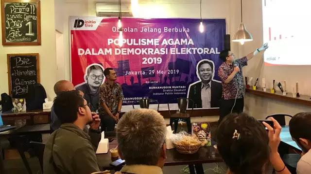 Indikator Politik Sebut Nahdlatul Ulama Jadi Penentu Kemenangan Jokowi