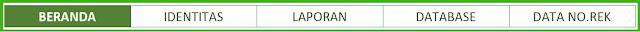 Aplikasi Excel Cetak Slip Setoran Bank