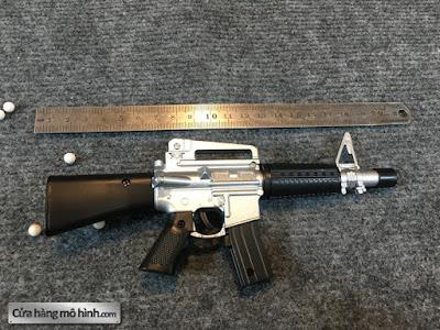 súng mô hình M16 mini bắn đạn bi 1