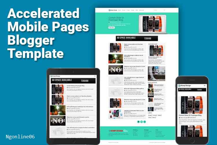 RE: Tempat Download Template Blogger AMP (Accelerated Mobile Pages) ?