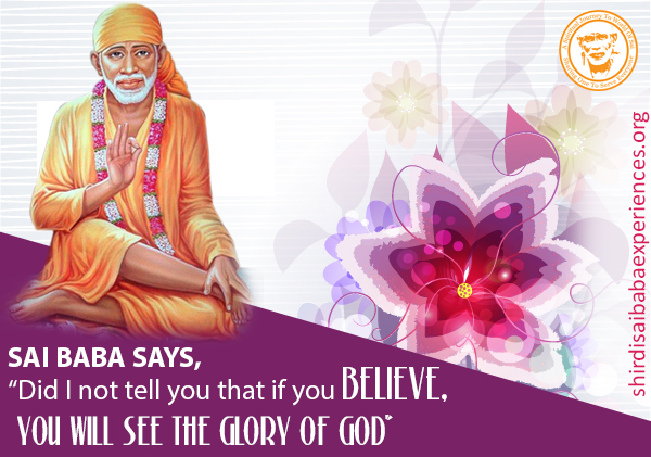 Miracle Of Beloved Sai Baba In My Life - Experience Of Chandrima