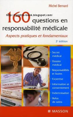 Télécharger Livre Gratuit 160 questions en responsabilité médicale pdf