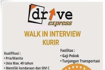Lowongan Kerja Bandung Kurir Drive Express