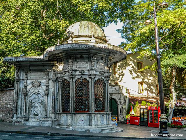 Quiosque no Bairro de Fatih, Istambul