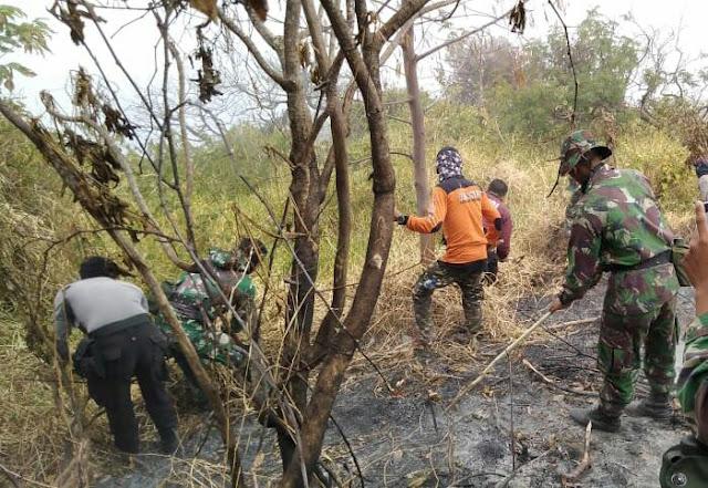 Kebakaran Lereng Barat-Selatan Gunung Slamet Merembet Ke Wilayah Banyumas