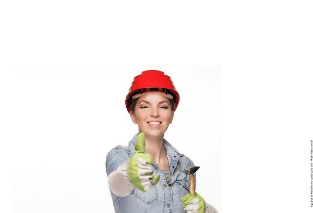 equipes de trabalho na construção civil