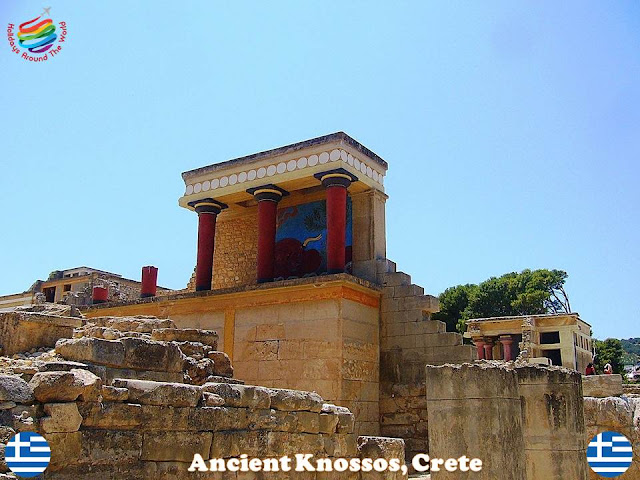 The most important tourist attractions in Crete, Greece