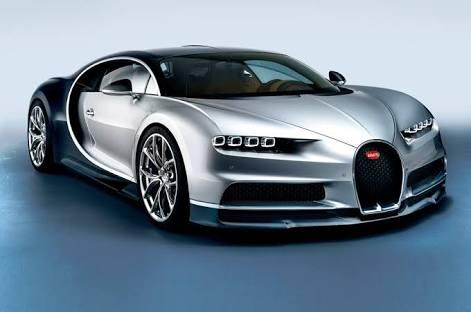 Most Expensive Cars - Bugatti Chiron