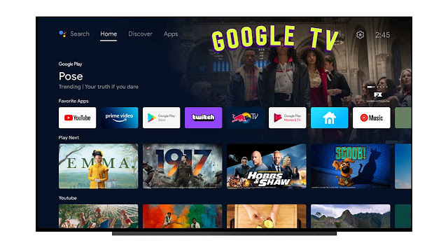 Nueva interfaz Google TV