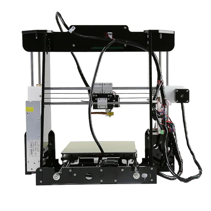 Anet A8 Desktop 3D Printer Prusa i3 mainboarda8 autolevelmencetakdimensimotherboardmother boardkartu sdreprap prusadiy kitdiy 3daliexpressfilamentlcd layar