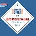 IBPS क्लर्क प्रीलिम्स  Test Series 2020 पर स्पेशल ऑफर