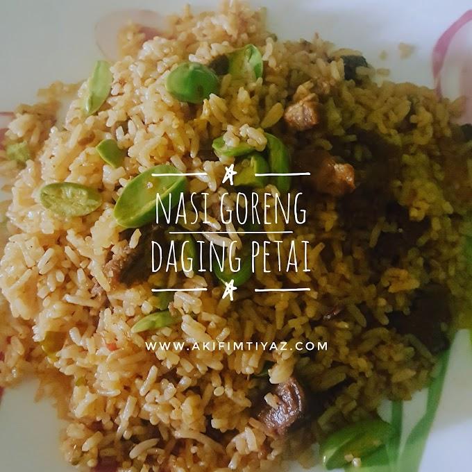 Nasi Goreng Daging Petai Style KakYa