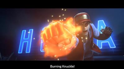 Burning Knuckle!!!!