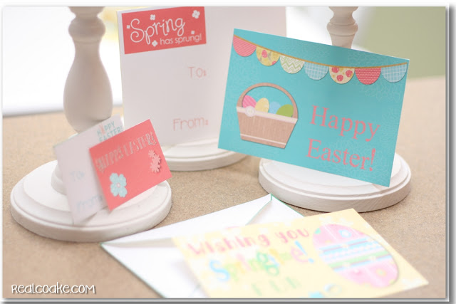 Free printable Easter cards for you and your doll. #Printable #Easter #AGDoll #AmericanGirlDoll #RealCoake