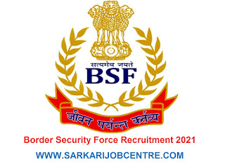 BSF Recruitment 2021 Apply Online for Air Wing