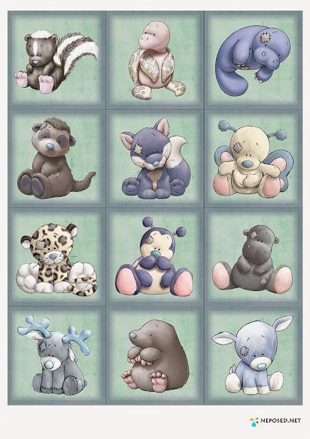 Personajes de Narices Azules.