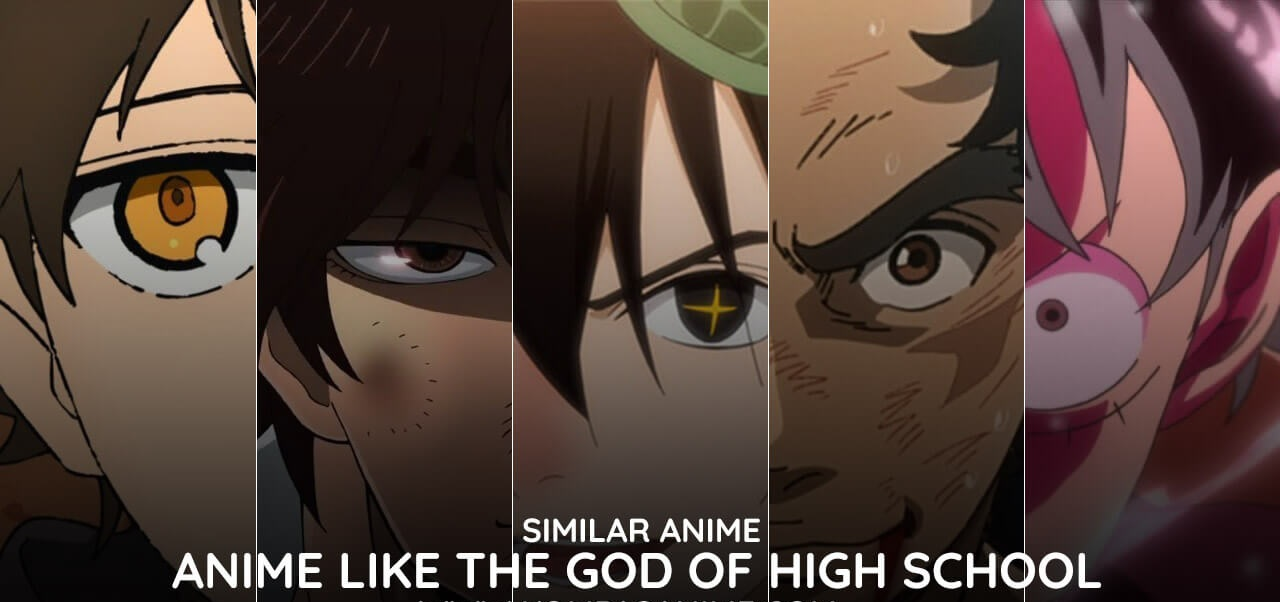 Anime Mirip The God of High School
