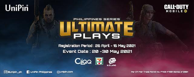 UniPin Call of Duty Mobile tournament Gizmo Manila