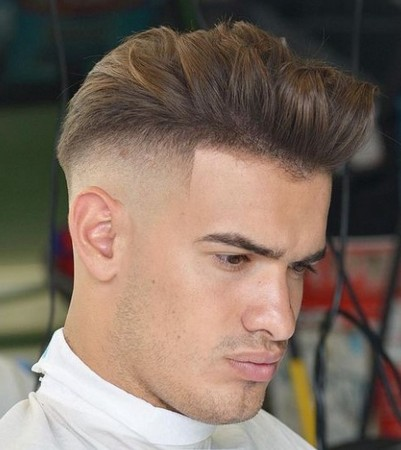 model rambut morisey depan belakang