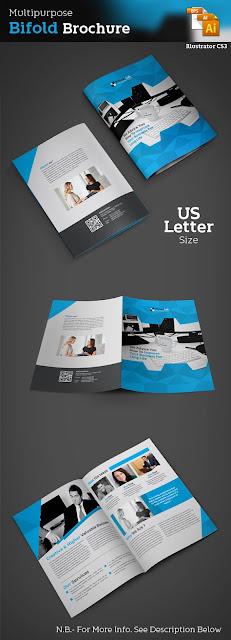 template, creative, bifold, design, print, template, best, design